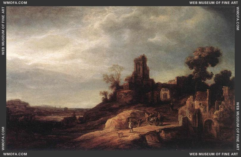 Landscape 1637 by Flinck, Govert Teunisz