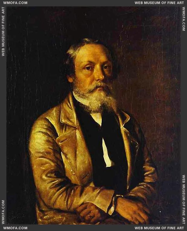 Self-Portrait 1884 by Khrutsky, Ivan