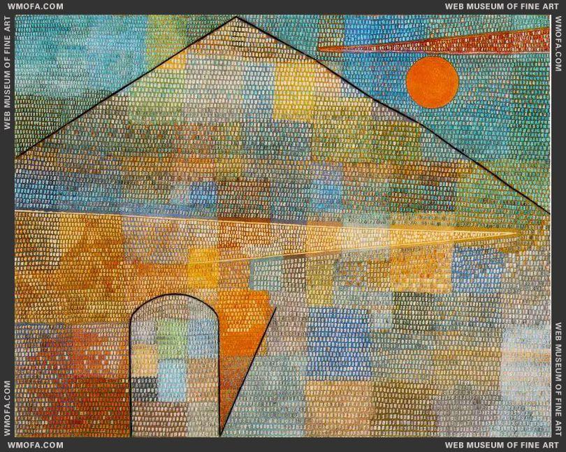 Ad Parnassum 1932 by Klee, Paul