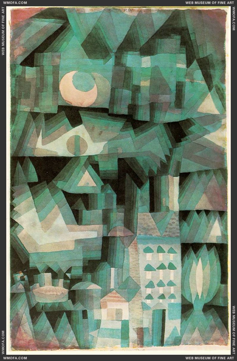 Dream City 1921 by Klee, Paul