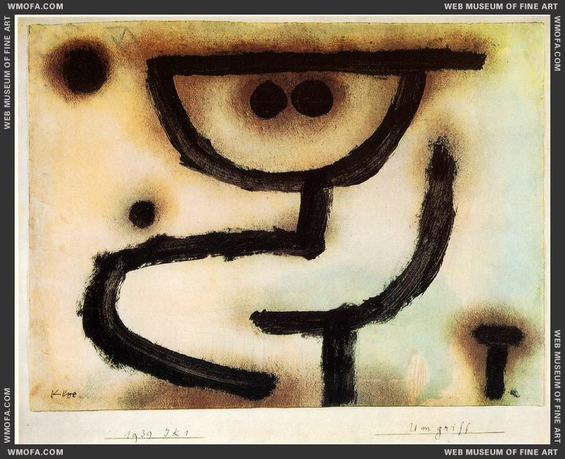 Embrace 1939 by Klee, Paul