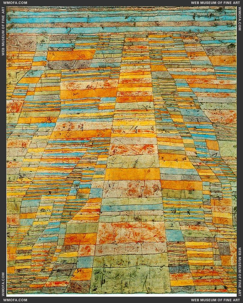 Highway and Byways 1929 by Klee, Paul