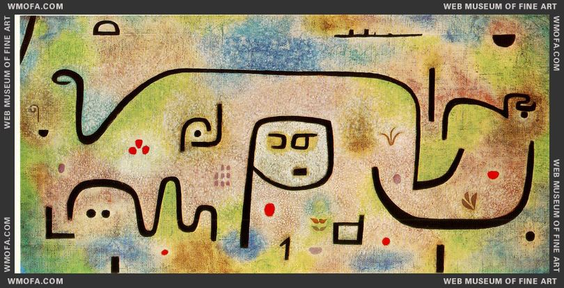 Insula Dulcamara 1938 by Klee, Paul