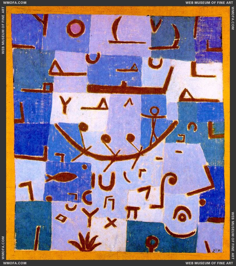 Legend of the Nile 1937 by Klee, Paul