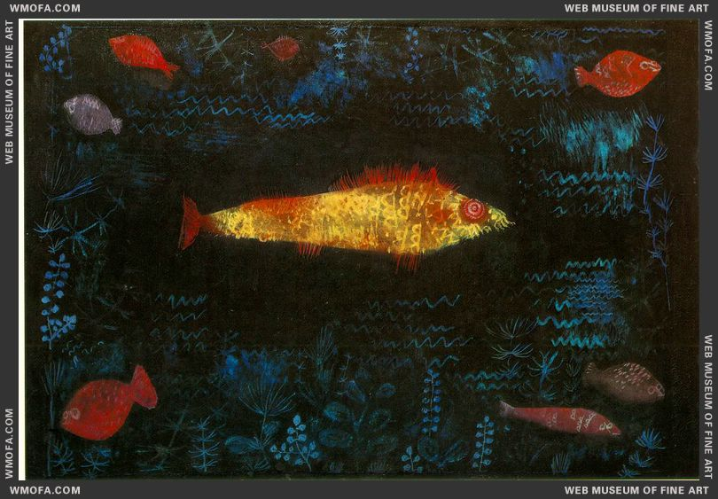 The Golden Fish 1925 by Klee, Paul