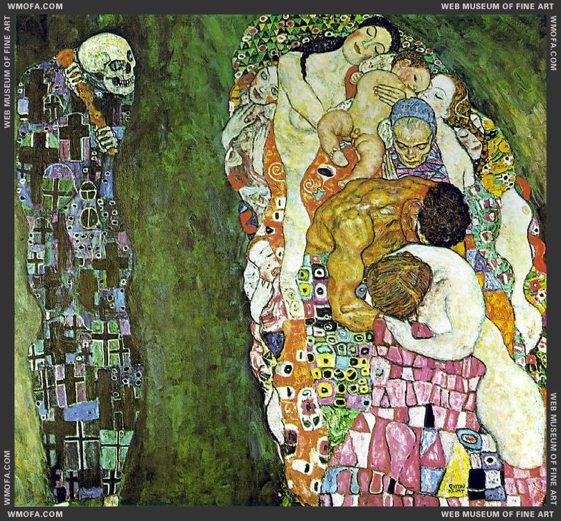 Death and Life 1916 by Klimt, Gustav