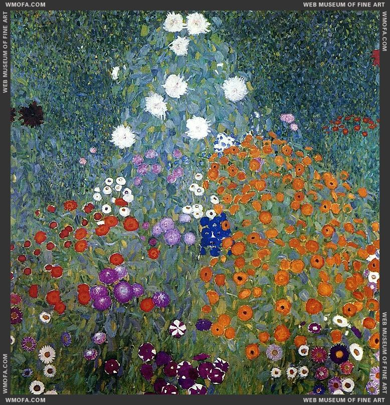 Farm Garden 1905-1906 by Klimt, Gustav