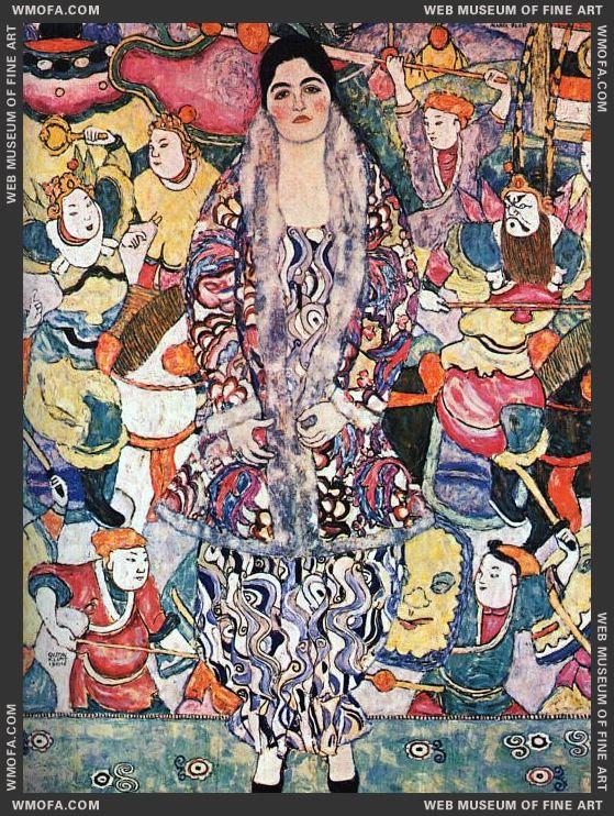Friedericke Maria Beer 1916 by Klimt, Gustav