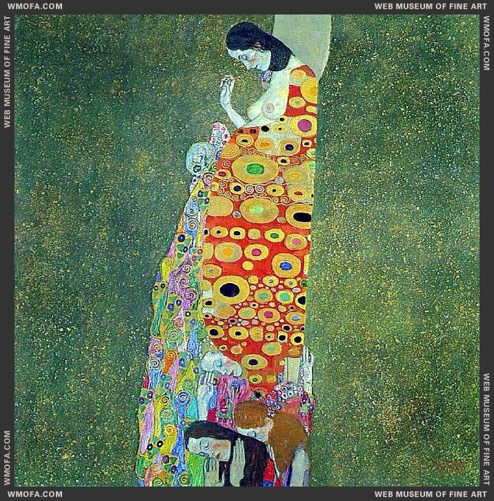 Hope II 1907-1908 by Klimt, Gustav