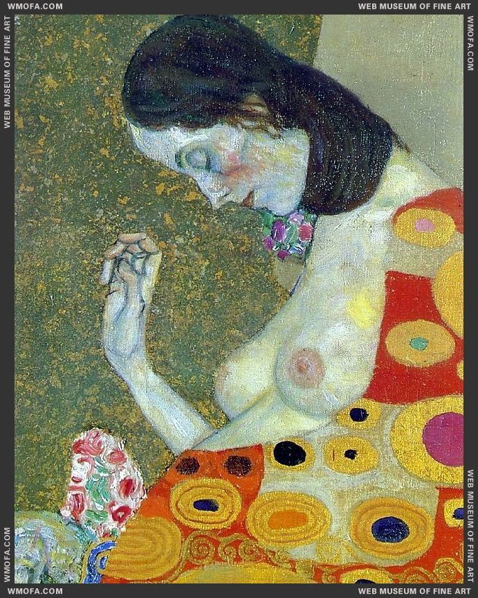 Hope II detail 1907-1908 by Klimt, Gustav