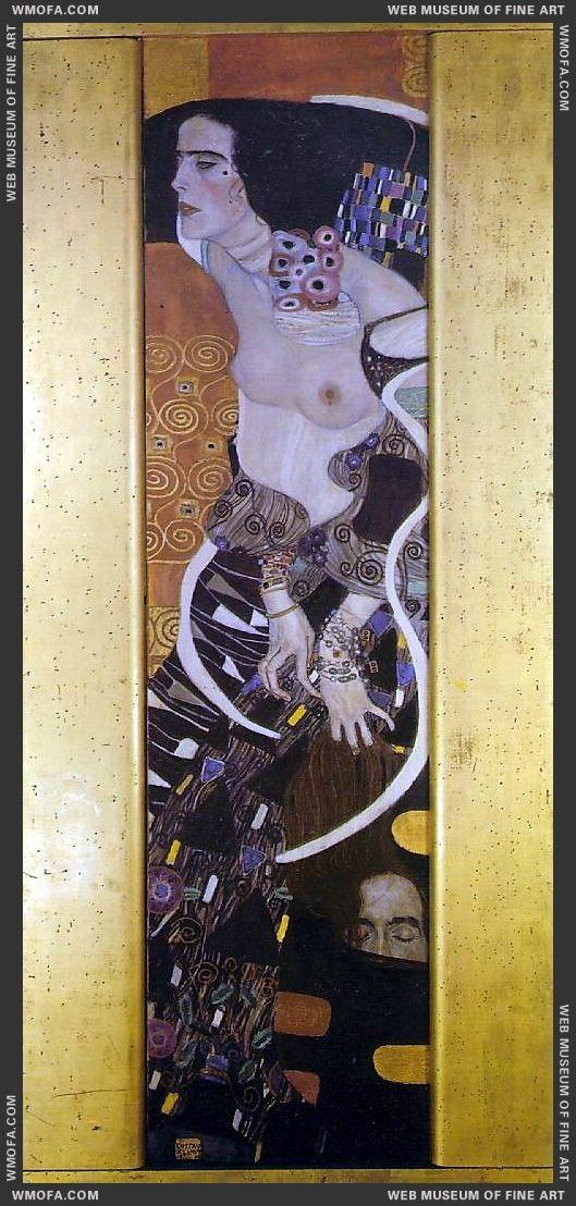 Judith II 1909 by Klimt, Gustav