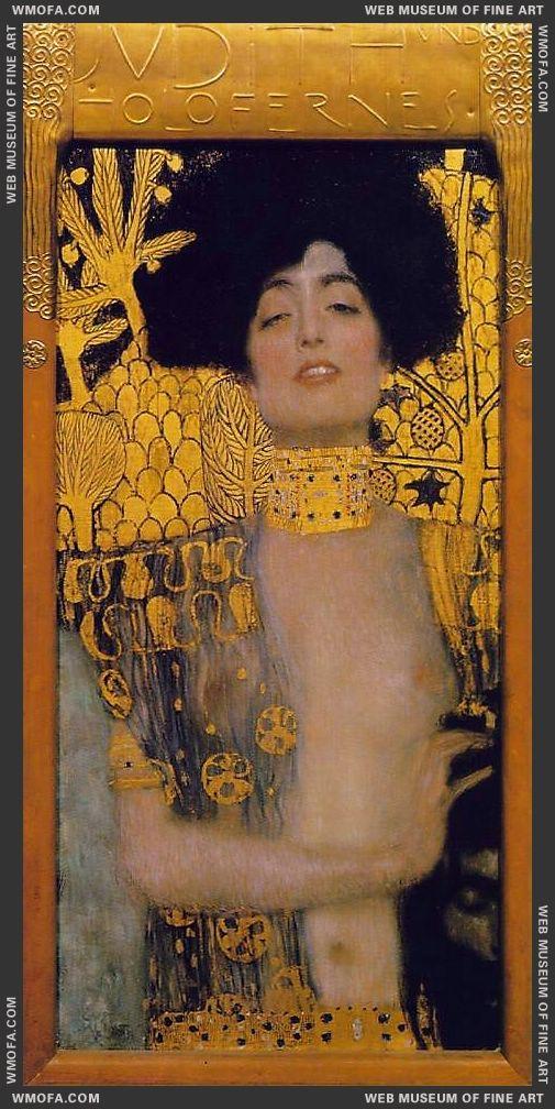 Judith I 1901 by Klimt, Gustav