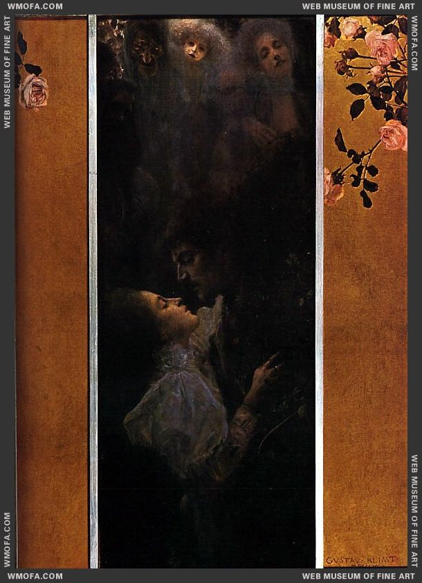 Love 1895 by Klimt, Gustav