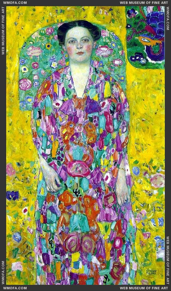 Portrait of Eugenia Primavesi 1913-1914 by Klimt, Gustav