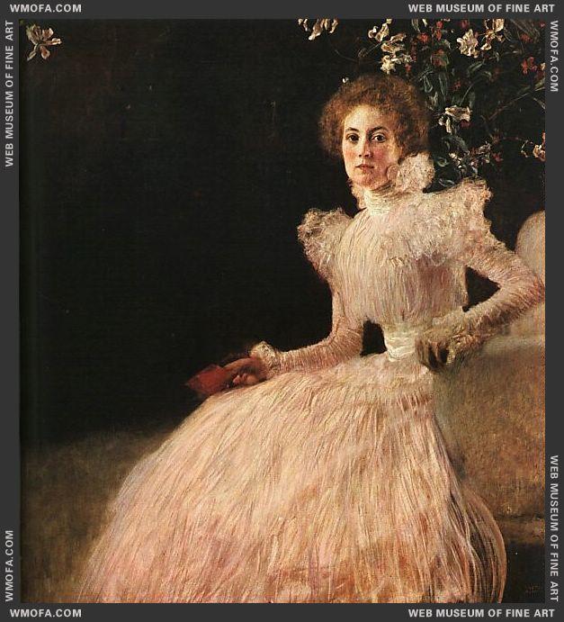 Sonja Knips 1898 by Klimt, Gustav