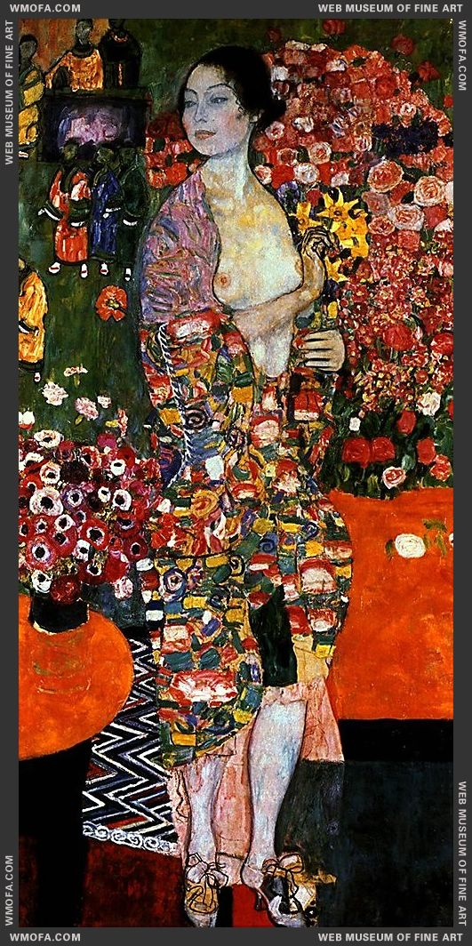 The Dancer 1916-1918 by Klimt, Gustav