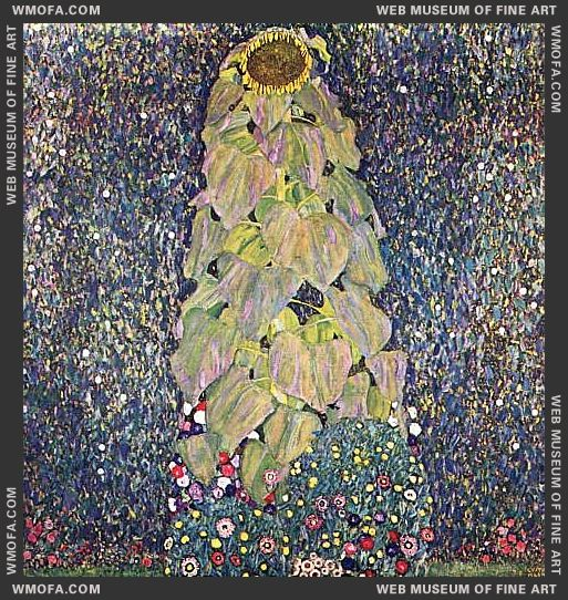 The Sunflower 1906-1907 by Klimt, Gustav