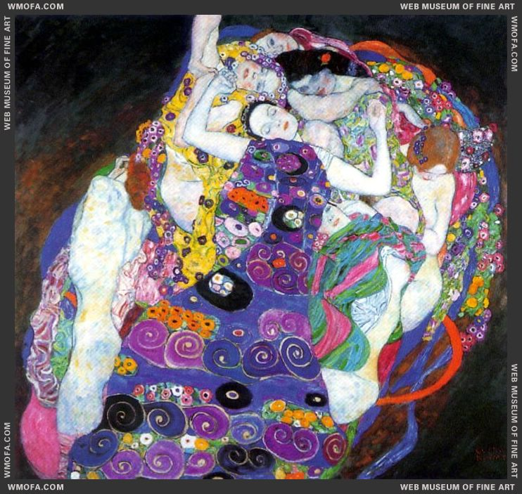 The Virgin 1913 by Klimt, Gustav
