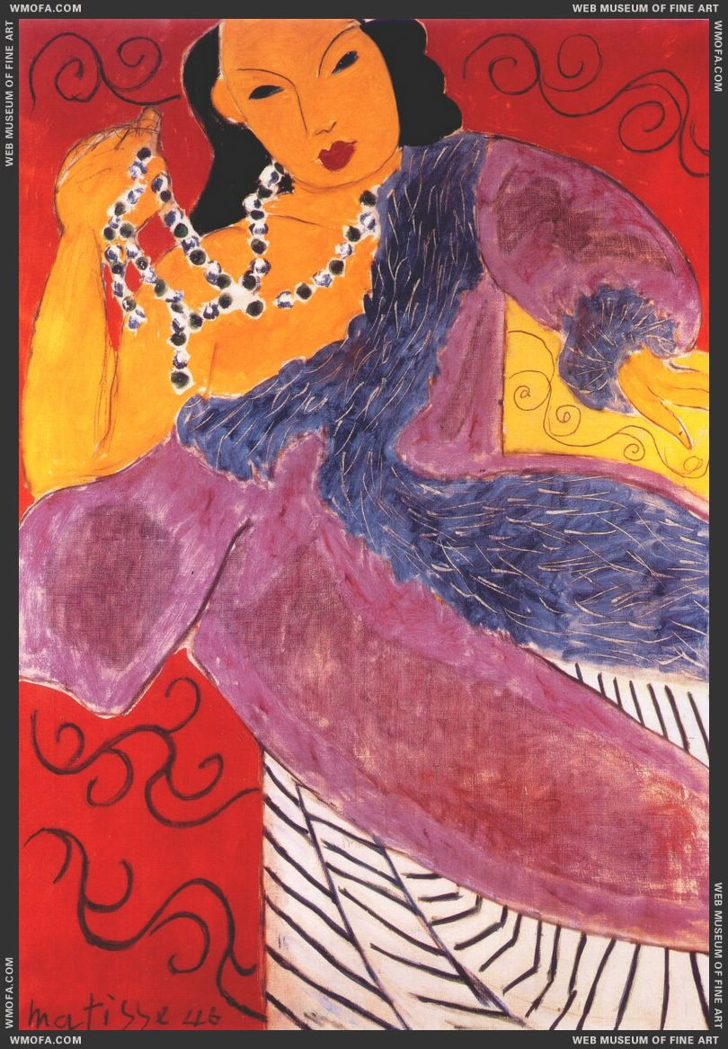 Asia 1946 by Matisse, Henri