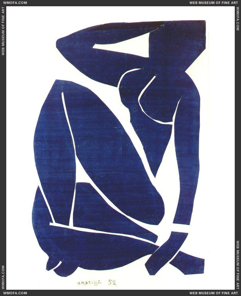 Blue Nude III 1952 by Matisse, Henri