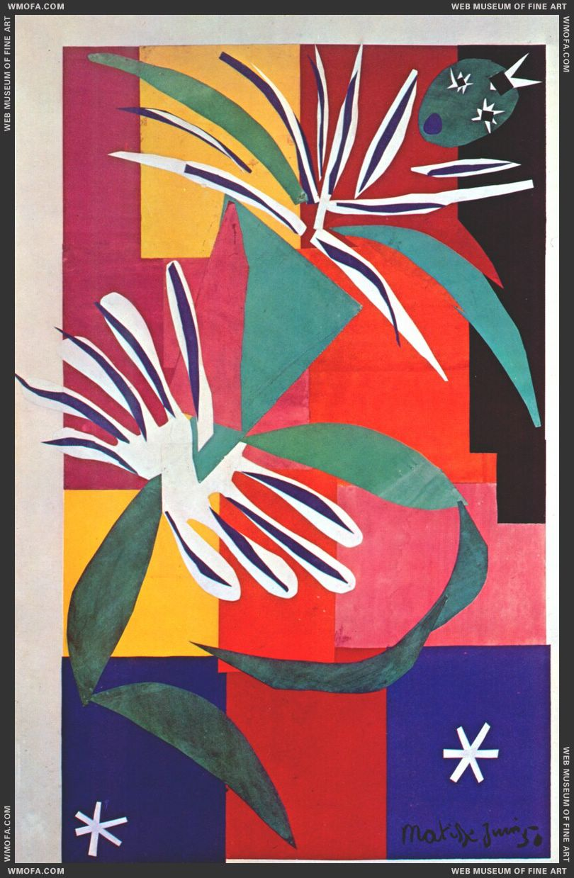Creole Dancer 1950 by Matisse, Henri