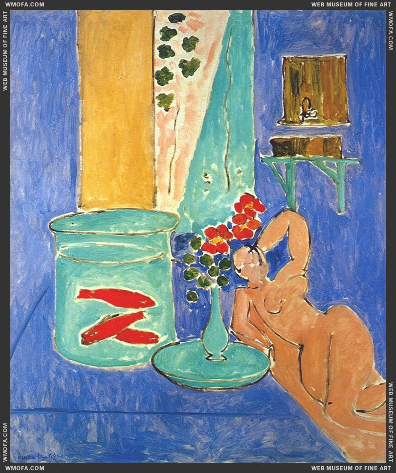 Goldfish and Sculpture 1912 by Matisse, Henri