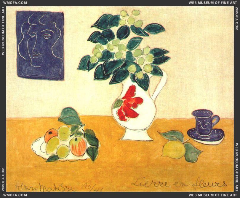 Ivy in Flower 1941 by Matisse, Henri