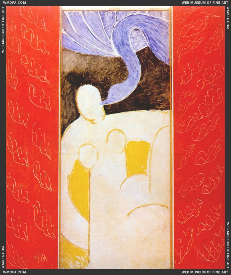Leda and the Swan (triptych) 1944-6 by Matisse, Henri