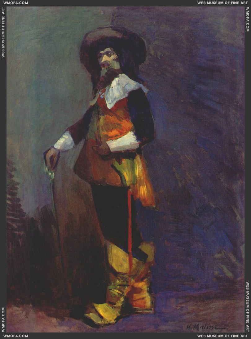 Lucien Guitry as Cyrano de Bergerac 1903 by Matisse, Henri