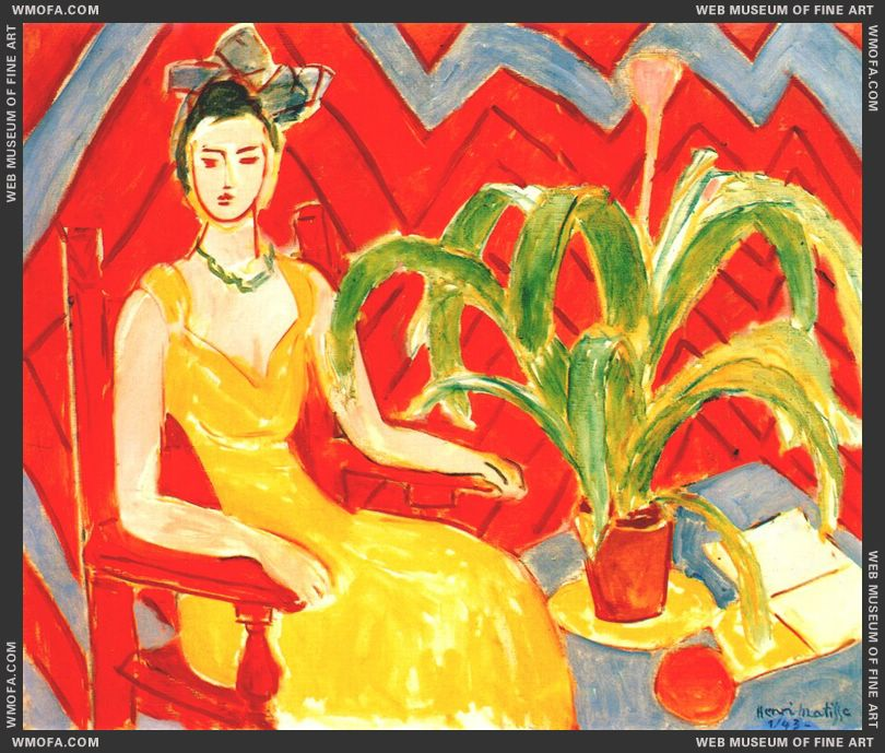 Michaela 1943 by Matisse, Henri