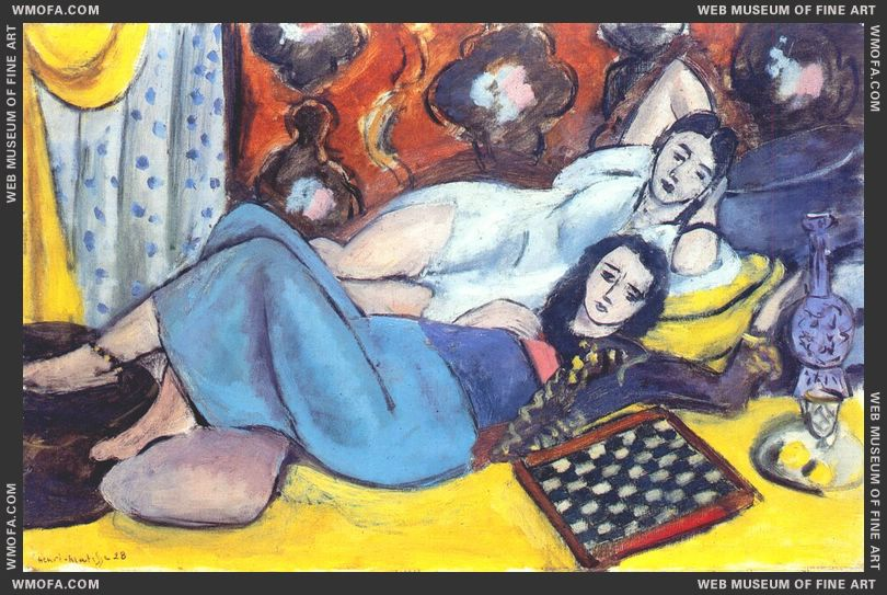 Models at Rest 1928 by Matisse, Henri