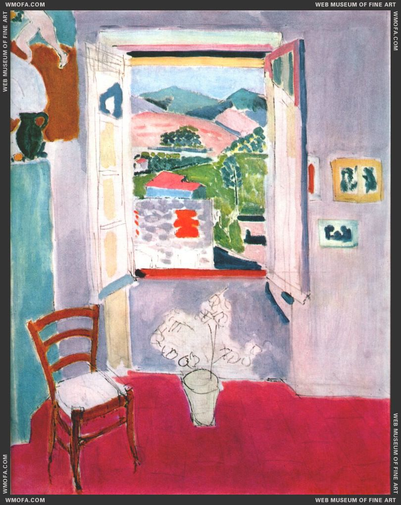 Open Window at Collioure 1910 by Matisse, Henri