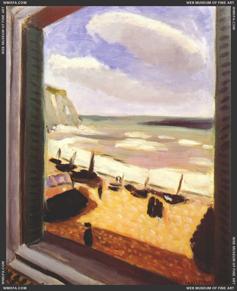 Open Window at Etretat 1920-1 by Matisse, Henri