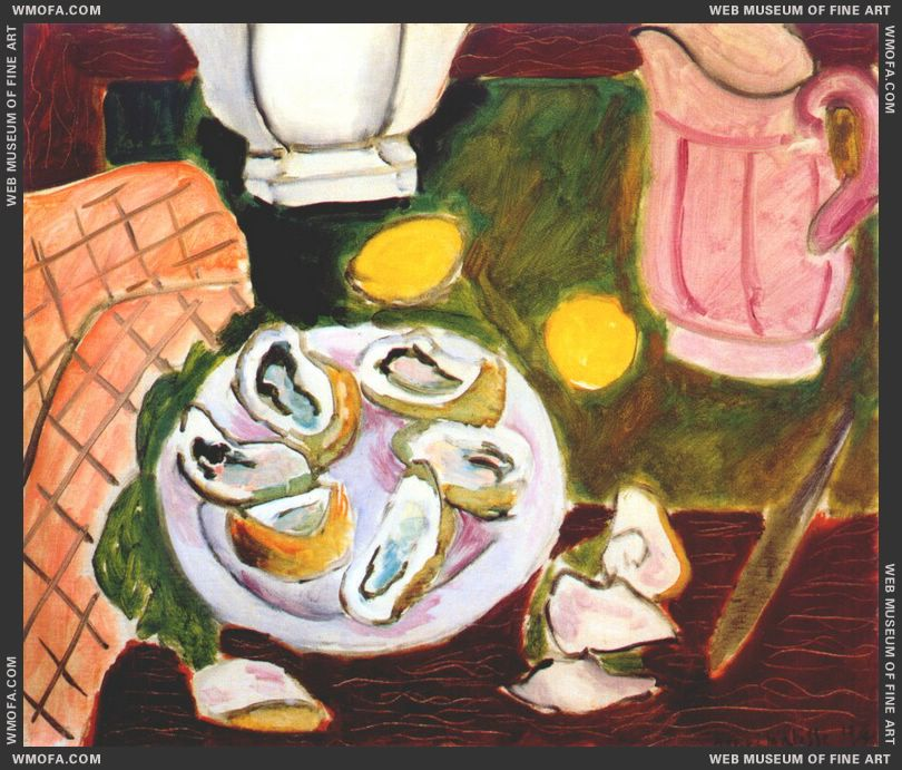 Oysters 1940 by Matisse, Henri
