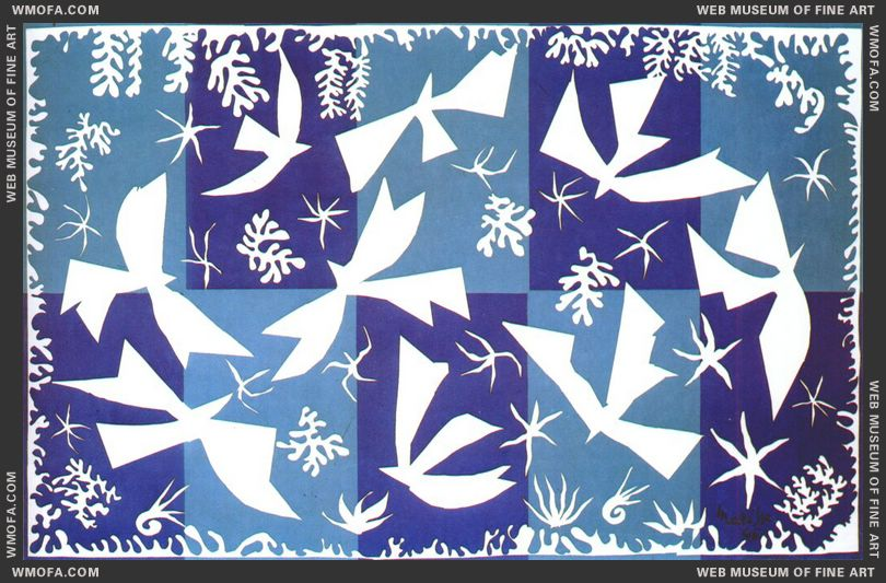Polynesia, the Sky 1946 by Matisse, Henri
