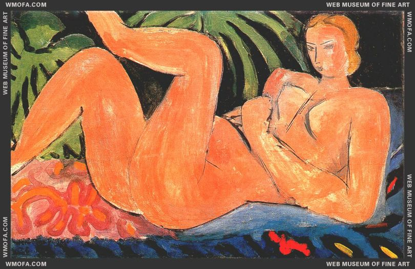 Reclining Nude 1936 by Matisse, Henri
