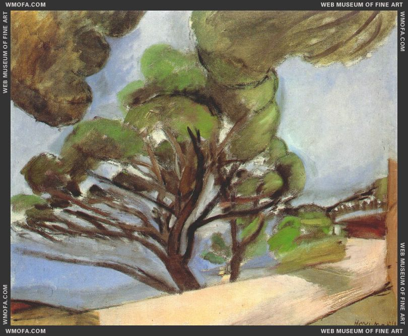 Road to Cap d'Antibes (The Large Pine) 1926 by Matisse, Henri
