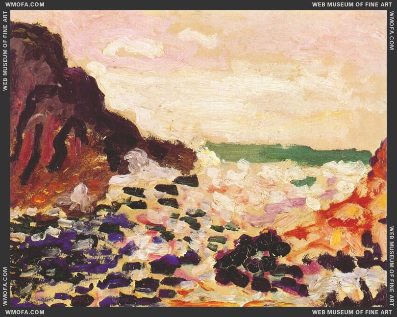 Seascape 1905 by Matisse, Henri