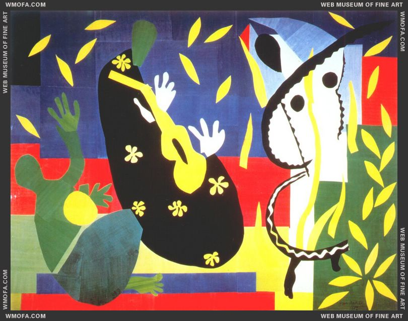 Sorrow of the King 1952 by Matisse, Henri
