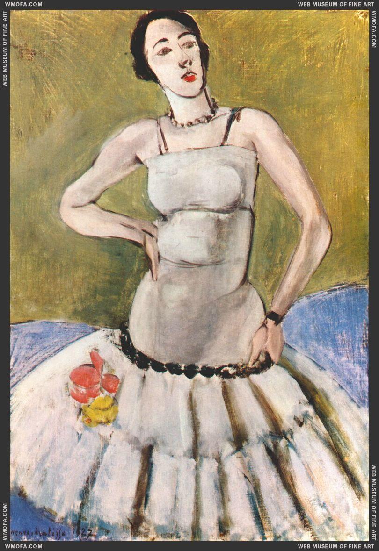 Standing Ballerina (Harmony in Gray) 1927 by Matisse, Henri