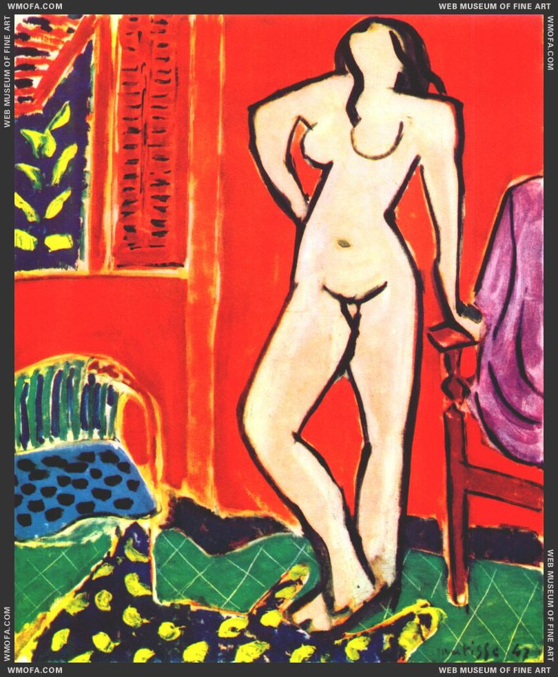 Standing Nude 1947 by Matisse, Henri