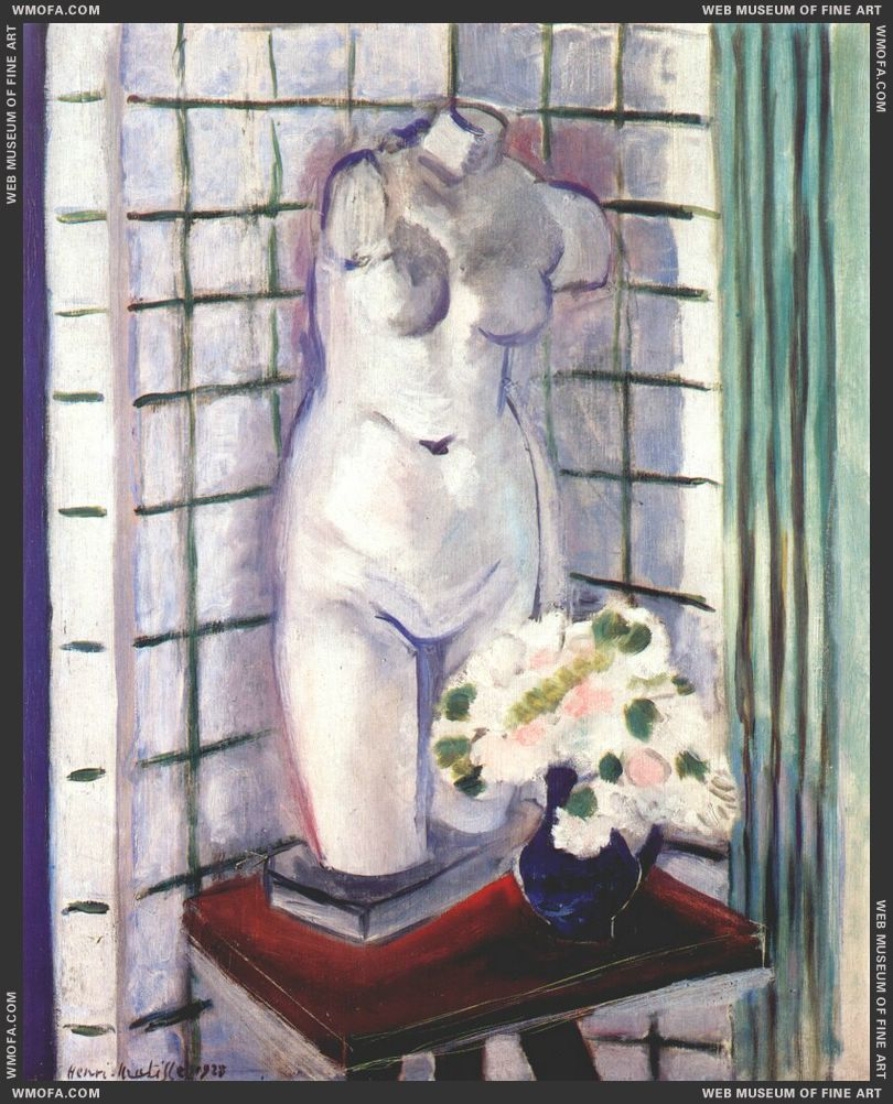 Still Life with Plaster Torso 1928 by Matisse, Henri