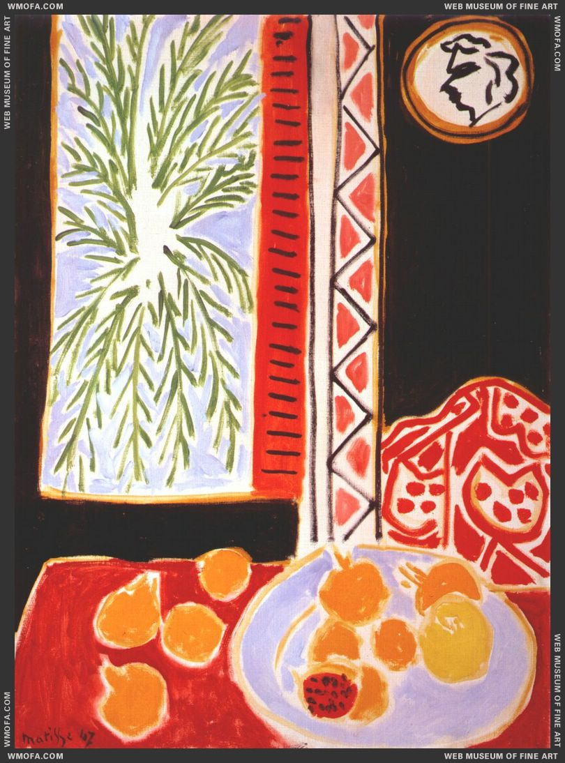 Still Life with Pomegranates 1947 by Matisse, Henri