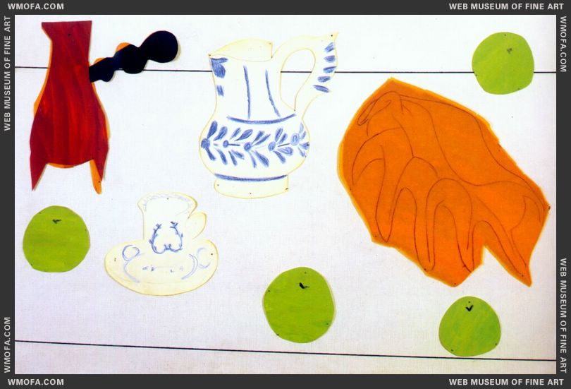 Still Life with Seashell 1940 by Matisse, Henri