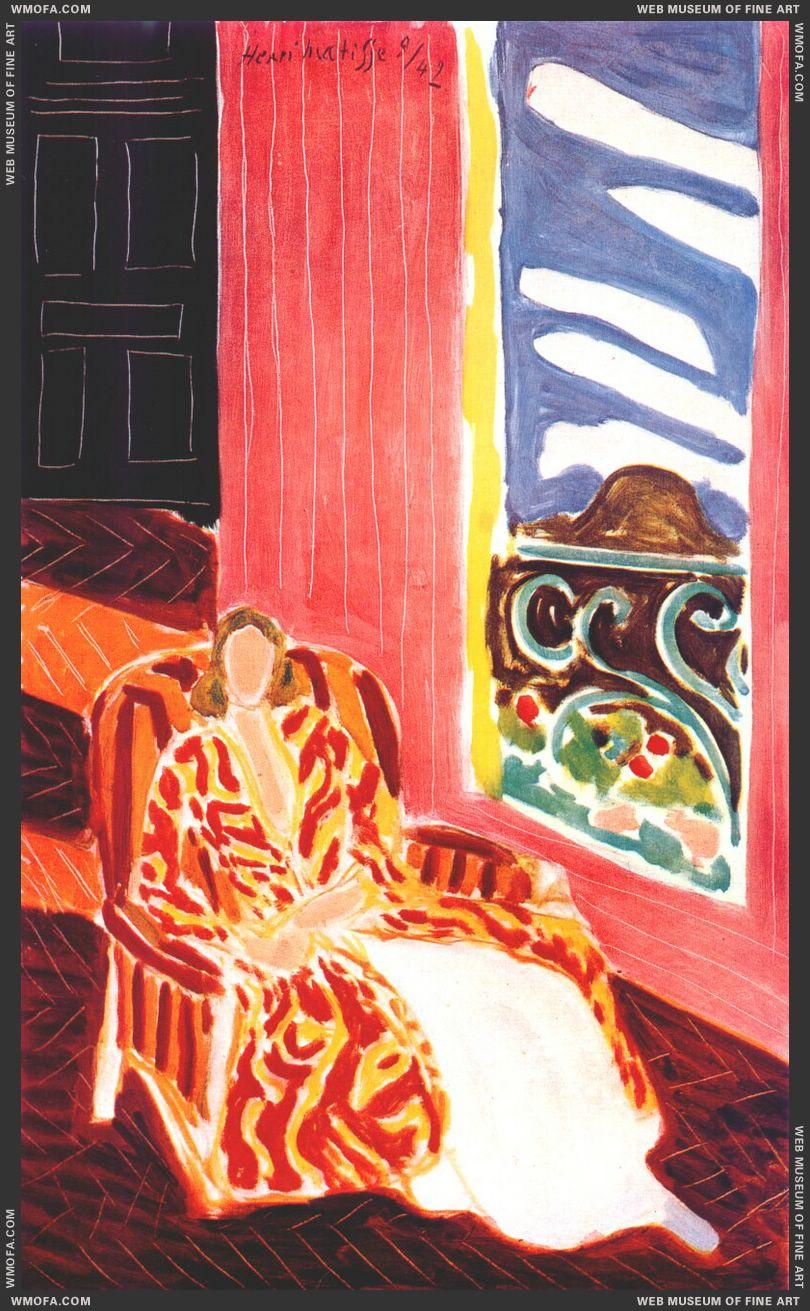 The Black Door 1942 by Matisse, Henri