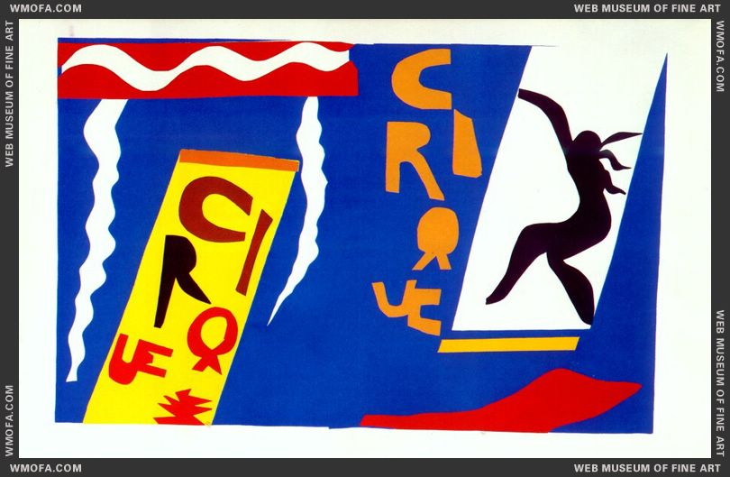The Circus (Jazz Plate II) by Matisse, Henri