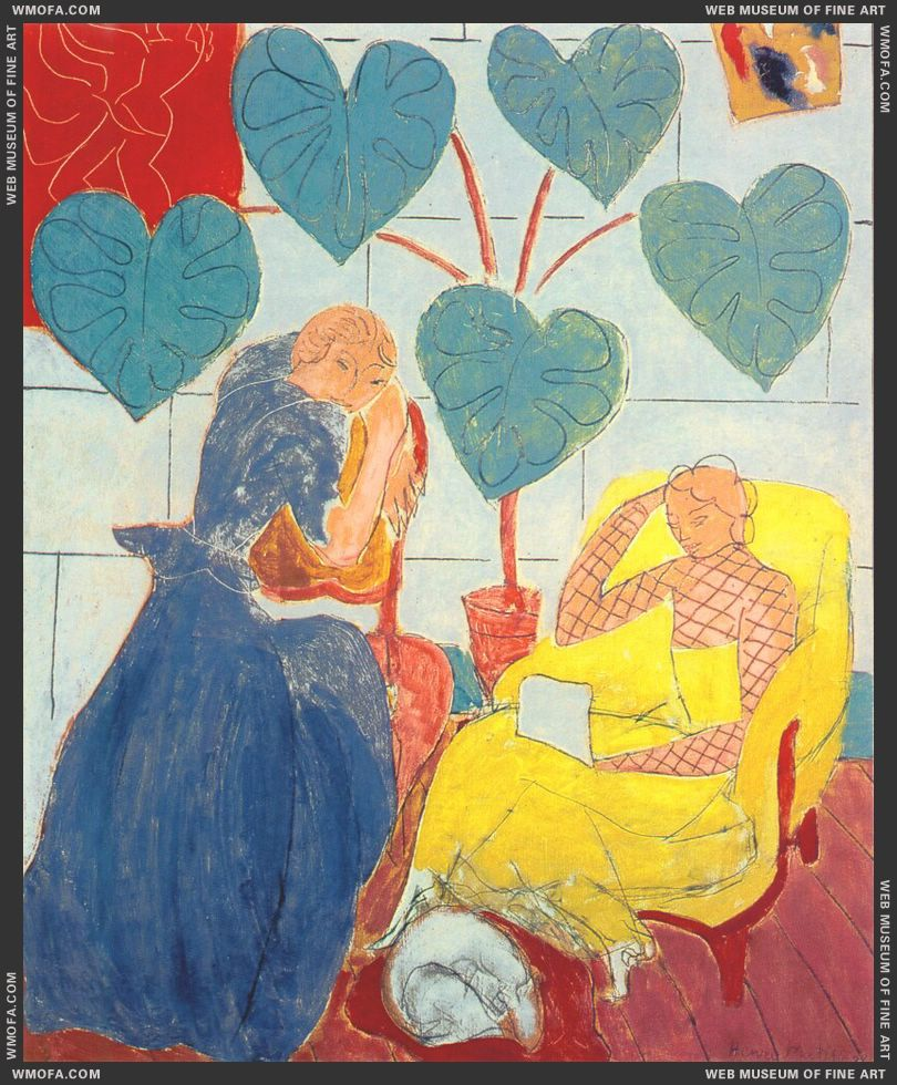 The Conservatory 1938 by Matisse, Henri