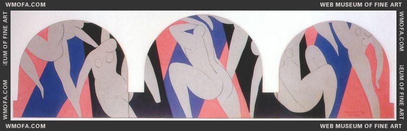 The Dance (Paris Version) 1931-33 by Matisse, Henri