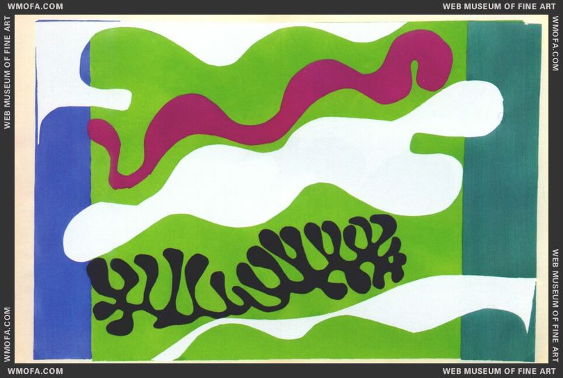 The Lagoon 2 (Jazz Plate XVIII) by Matisse, Henri