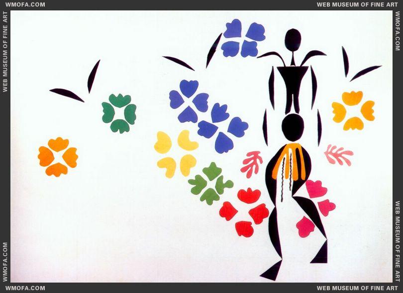 The Negress 1952 by Matisse, Henri